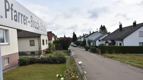 In Buchdorf soll unter anderem die Pfarrer-Bosch-Straße komplett neu ausgebaut werden - inklusive Kanal und Wasserleitung.