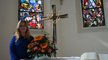 Aus Gunzenhausen stammt Donauwörths neue Pfarrerin Jasmin Gerhäußer.