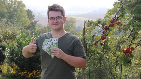 Benedikt Kühmoser aus Rain am Lech hat 1000 Euro beim AZ-Bilderrätsel gewonnen. Der Student will das Geld erst einmal auf die hohe Kante legen.