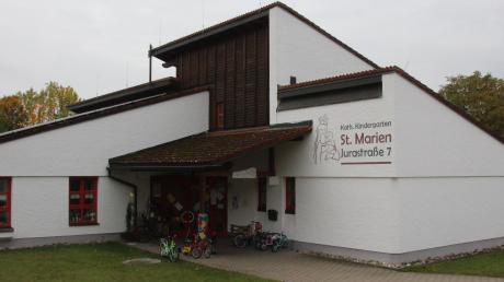 Der Kindergarten St. Marien in Huisheim soll kommendes Jahr erweitert werden. Der Bedarf an Betreuungsplätzen ist in der Gemeinde weiterhin hoch.