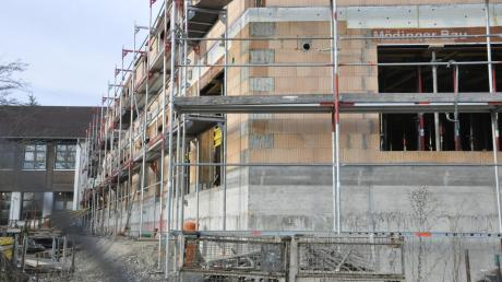 Ein zentrales Bauprojekt in Tapfheim: der Anbau zum Kindergarten.