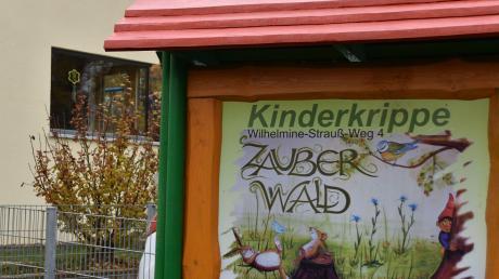 """Die Kinderkrippe """"Zauberwald"""" in Kaisheim reicht nicht mehr aus, um alle Kleinkinder aufzunehmen, die einen Betreuungsplatz brauche."""