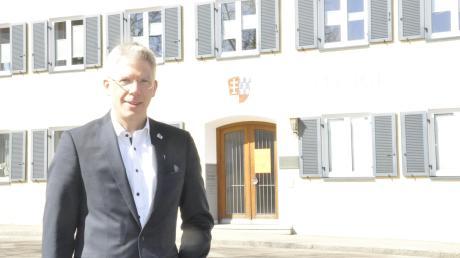 Veit Meggle, Bürgermeister von Mertingen, blickte im Gemeinderat auf das Jahr zurück.