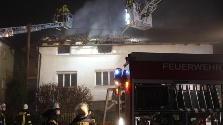 Am Nachmittag des 27. November verlor eine Familie in Rögling ihr Hab und Gut und ihr Zuhause. Die Kartei der Not half auch hier.