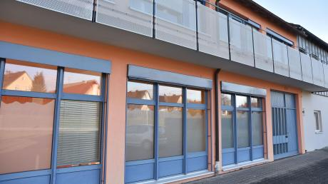 Im Erdgeschoss dieses Gebäudes in Wemding wird die Tagespflege-Einrichtung geschaffen.