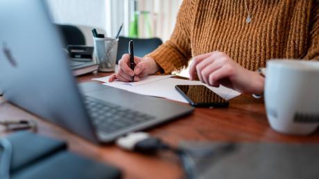 Der Alltag im Homeoffice: Unternehmen aus dem Landkreis Donau-Ries bieten ihren Mitarbeitern vermehrt die Möglichkeit an, von daheim aus zu arbeiten. Bei den Behörden ist der Anteil der Mitarbeiter im Homeoffice gering.