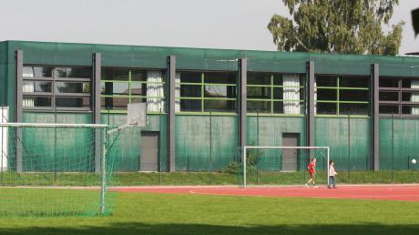 Die Turnhalle in Mertingen wird grundlegend saniert.