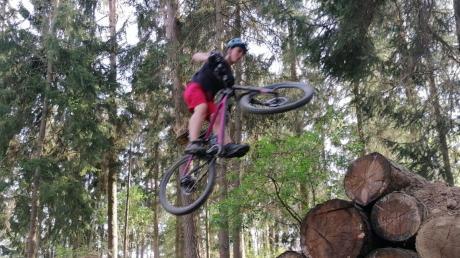 Eine Mountainbikestrecke wünscht sich einer Umfrage zufolge mancher Jugendliche in Wemding.