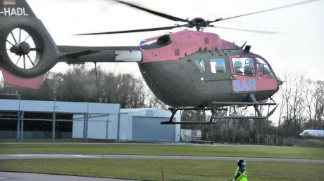 Sieben solche SAR-Hubschrauber hat die Firma Airbus Helicopters an die Bundeswehr geliefert.