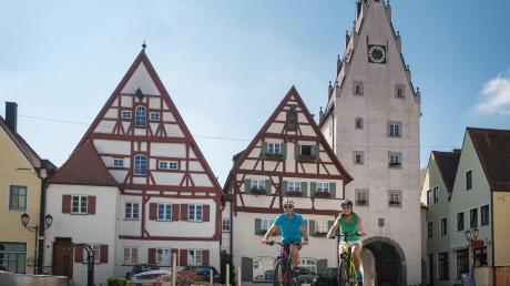 """Mit einer """"Radl-Offensive"""" will die Stadt Monheim auf ihrem Gebiet das Radfahren attraktiver und sicherer gestalten."""