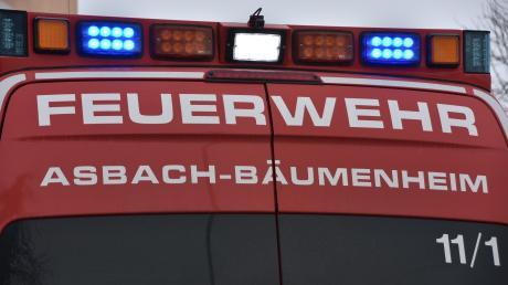 Die Feuerwehr Bäumenheim hatte am Freitag einen Einsatz.