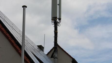 Die Mobilfunk-Sendeanlage in Rögling ist jetzt in Betrieb.