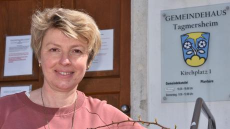 Hat einen Vollzeitjob: Petra Riedelsheimer, ehrenamtliche Bürgermeisterin der Gemeinde Tagmersheim.