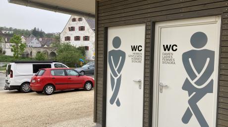 An der Grasstraße in Harburg steht jetzt ein öffentliches WC.