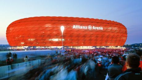In den Logen der Allianz Arena geht es nicht immer nur ums Sportliche.