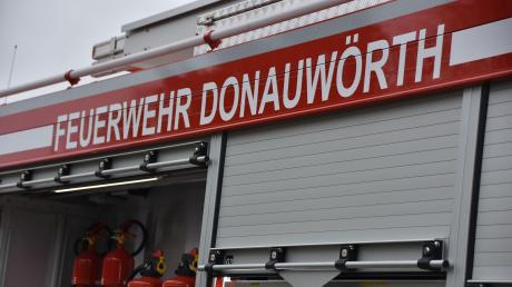 Die Freiwillige Feuerwehr Donauwörth rückte am Samstag aus.
