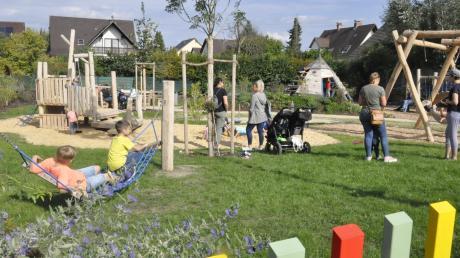 In Bäumenheim wird viel für Familien getan. Ein aufwendiges Spielplatzkonzept wurde umgesetzt, und es gibt Geld für Häuslebauer mit Kindern.