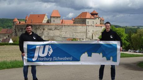 Marco Pulci (rechts) und Johannes Amerdinger führen die wiedergegründete JU in Harburg.
