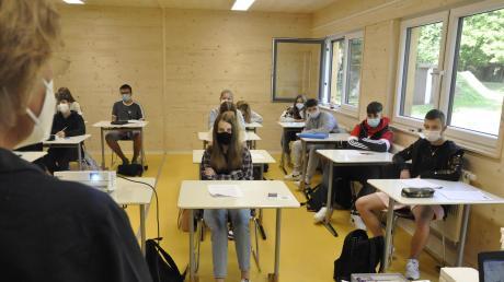 Mit dem neuen Schuljahr sind die Container Ludwig-Auer-Mittelschule Donauwörth in Betrieb genommen worden.