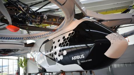 So sah der Demonstrator des Lufttaxis CityAirbus aus, der in Donauwörth entwickelt und gebaut worden ist.