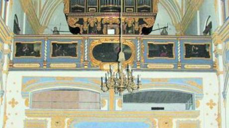 Der Spendenerlös aus dem Weihnachtskonzert kommt der renovierungsbedürftigen frühbarocken Prescher-Orgel der Klosterkirche von 1683 zugute. Foto: rpf