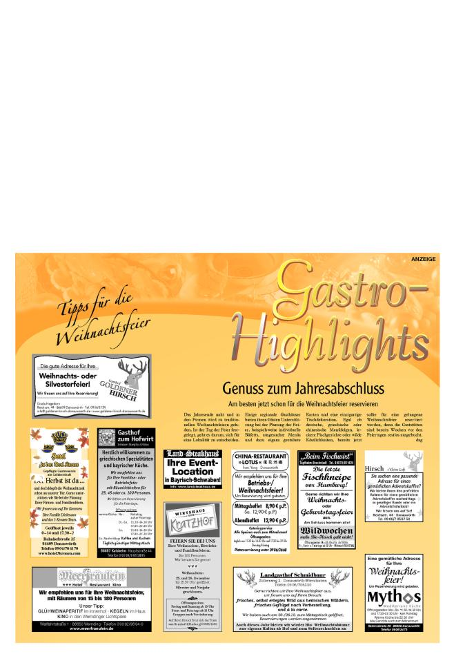 Gastro-Highlights