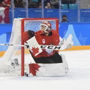 Kevin Poulin holte mit der Olympia-Mannschaft Kanadas in Pyeongchang Bronze. Foto: Tobias Hase