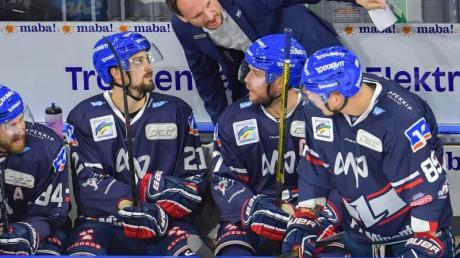 Die von Pavel Gross trainierten Adler Mannheim kassierten eine Auswärtsniederlage. Foto: Uwe Anspach