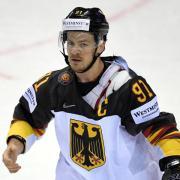 Moritz Müller ist der Kapitän der deutschen Eishockey-Nationalmannschaft. Foto: Monika Skolimowska