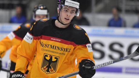 Stefan Loibl wird ab der Saison 2020/2021 für die Adler Mannheim spielen. Foto: Peter Kneffel