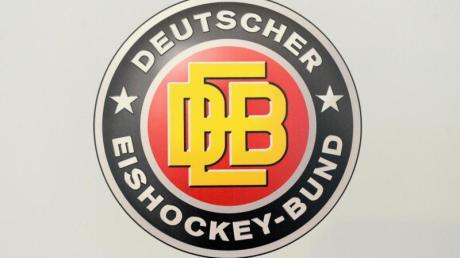 Das Logo des Deutschen Eishockey-Bundes DEB. Foto: Tobias Hase/dpa