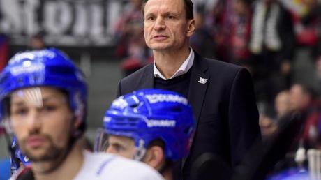 Verpasste mit den Adler Mannheim das Königsklassen-Viertelfinale: Coach Pavel Gross.