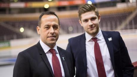 Hat eine hohe Meinung von Leon Draisaitl (r): Ex-Bundestrainer Marco Sturm.