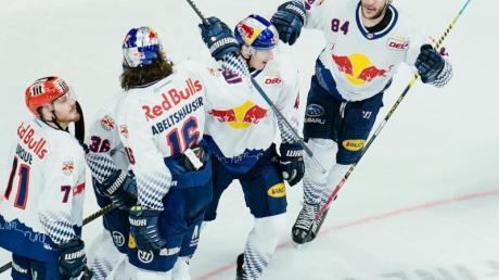 Der EHCRed Bull München hat sich vorzeitig für die Eishockey-Champions-League qualifiziert.