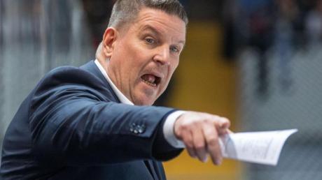 Bleibt Trainer bei den Straubing Tigers: Tom Pokel.