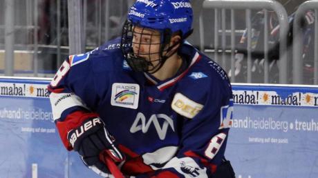Hat die NHL im Visier: Tim Stützle von den Adler Mannheim.