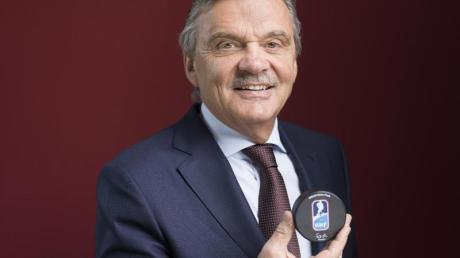 Rene Fasel, Präsident der Internationalen Eishockey-Föderation, IIHF.