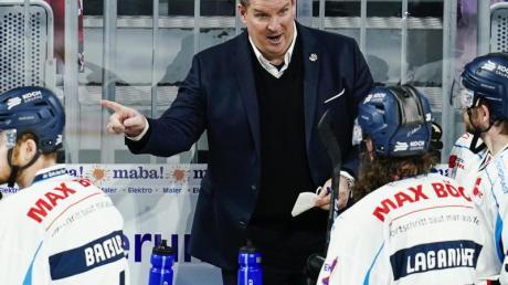 Bleibt ein weiteres Jahr Trainer der Straubing Tigers: Tom Pokel.