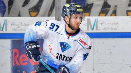 Hat speziell in dieser Saison beim ERC Ingolstadt eine prima Entwicklung genommen: Verteidiger Simon Schütz. Am Samstag gegen Mannheim wird der 22-Jährige jedoch angeschlagen fehlen.