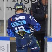 Stand für den ERC Ingolstadt am vergangenen Sonntag beim 3:2-Sieg gegen Düsseldorf, zu dem er auch noch einen Treffer beisteuerte, zum letzten Mal auf dem Eis: Verteidiger Ville Koistinen.