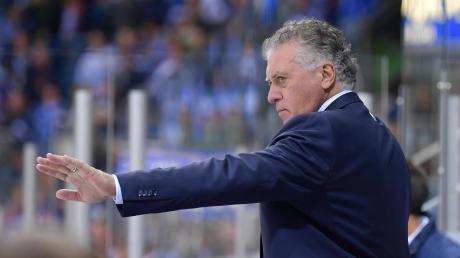 Seit Dienstagabend ist die DEL-Saison 2019/2020 auch für seine Mannschaft beendet: Ingolstadts Headcoach Doug Shedden.