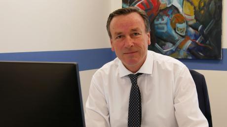 Übernahm im Mai 2020 den Geschäftsführer-Posten beim ERC Ingolstadt: Claus Liedy. Die Corona-Pandemie stellt ihn und sein Team noch immer vor große Herausforderungen.
