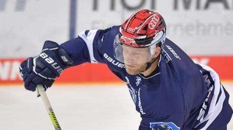 Geht auch in der kommenden Saison für den ERC Ingolstadt auf Torjagd: Center Daniel Pietta.
