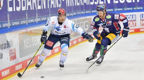 Wird den ERC Ingolstadt nach einer Saison in Richtung finnische Heimat wieder verlassen: Angreifer Petrus Palmu (links).