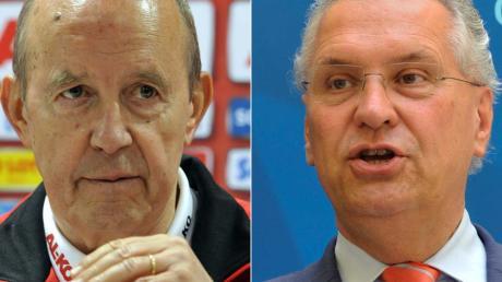 Das Innenministerium unter der Führung von Joachim Herrmann hat Stellung zu den Vorwürfen von FCA-Präsident Walther Seinsch bezogen.