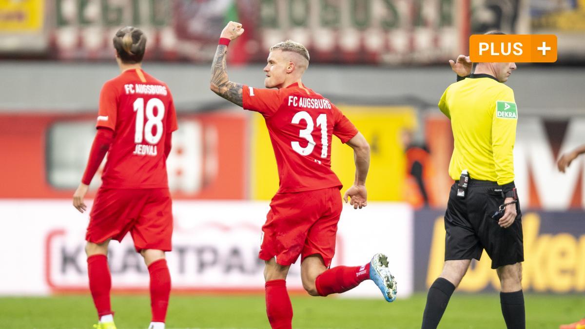 FCA-Siegtreffer gegen Paderborn: Ein Traumtor, das für Ärger sorgt - Augsburger Allgemeine