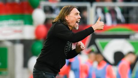 Martin Schmidt will mit dem FC Augsburg erstmals gegen Bayer Leverkusen gewinnen.