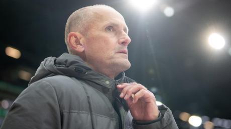 Heiko Herrlich war mit der Leistung beim 0:3 gegen Hertha BSC nicht einverstanden. Am Donnerstag steht ein Test gegen den Karlsruher SC an.