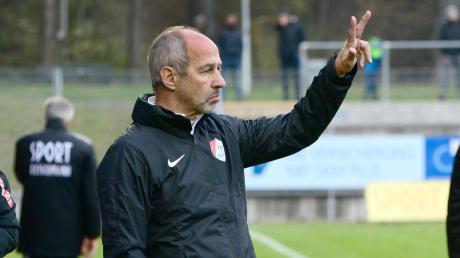 Seit dieser Saison trainiert der gebürtige Mindelheimer Reiner Maurer die Regionalliga-Mannschaft von Türkgücü München.