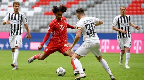 Freiburg versuchte die Bayern mit aggressivem Pressing zu verunsichern. Die Idee war jedoch nicht von Erfolg gekrönt.
